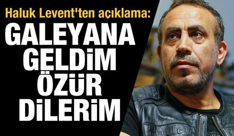 Haluk Levent'ten 'Ecem Güçlük' açıklaması: Galeyana geldim, özür dilerim