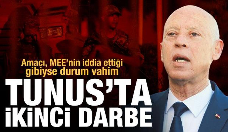 Tunus'ta ikinci darbe: Amacı MEE'nin iddia ettiği gibiyse durum vahim