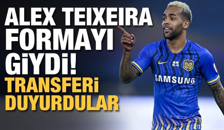 Alex Teixeira Beşiktaş formasını giydi!