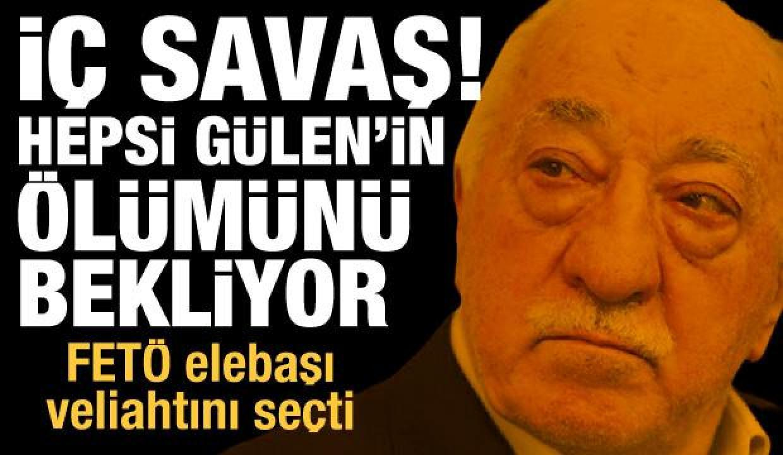 FETÖ'de iç savaş! Hepsi Gülen'in ölümünü bekliyor, Elebaşı Gülen veliahtını da seçti