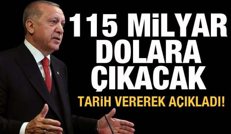 Son dakika: Erdoğan açıkladı: MB rezervleri 115 milyar dolara çıkacak