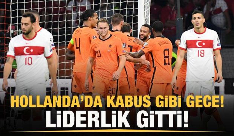 Türkiye, Hollanda'ya farklı kaybetti!