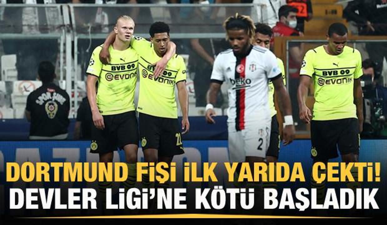 Beşiktaş, Devler Ligi'ne mağlubiyetle başladı!