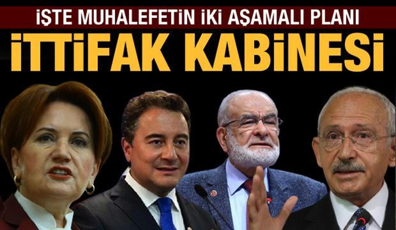 İttifak kabinesi: Kılıçdaroğlu cumhurbaşkanı; Akşener, Babacan ve Karamollaoğlu yardımcısı