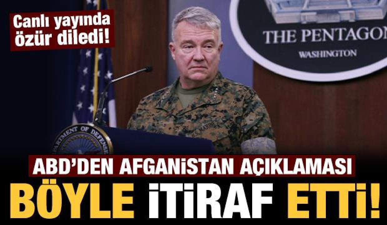 Son dakika: ABD kabul etti: Saldırıda 10 sivili öldürdüler!