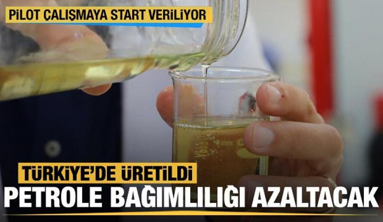Türkiye'de üretildi! Biyodizel, petrole olan bağımlılığı azaltacak