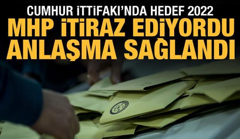 AK Parti ile MHP'den yeni çalışma: Her bölgeye 12 milletvekili
