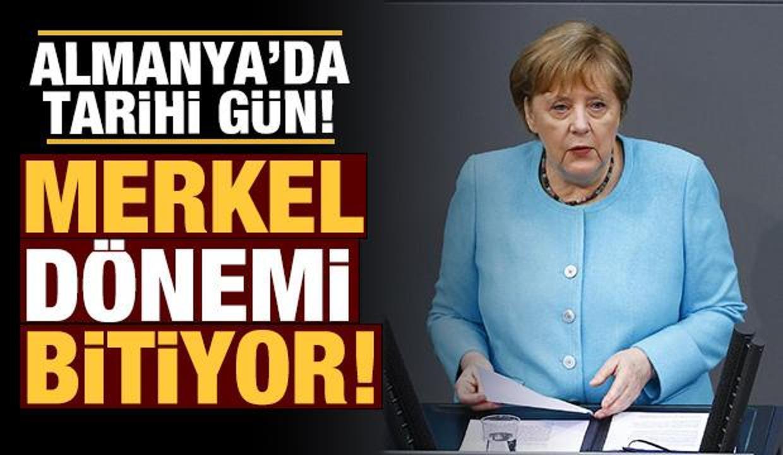 Almanya'da tarihi gün: Merkel dönemi bitiyor