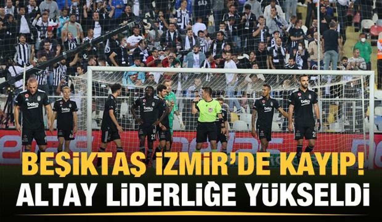 Altay, Beşiktaş'ı devirip liderliğe yükseldi!