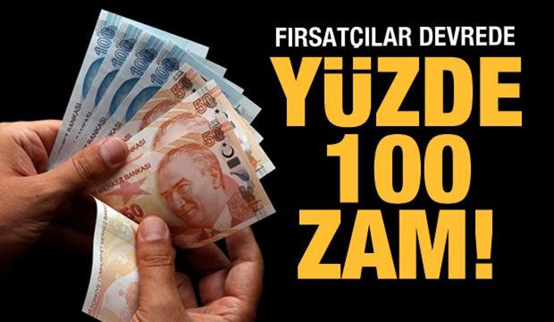 Bunlar da yurt fırsatçıları: Yüzde 100 zam!