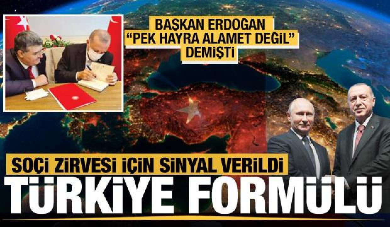 """Erdoğan neden """"Gidiş hayra alamet değil"""" dedi…"""