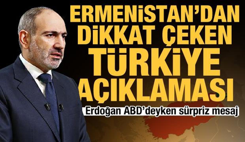 Ermenistan'dan Türkiye'ye 'görüşmeye hazırız' mesajı