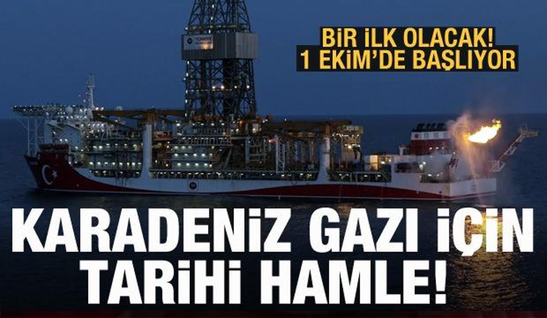 Karadeniz doğal gazı için Türkiye'den tarihi hamle! Bölgede bir ilk, 1 Ekim'de başlıyor