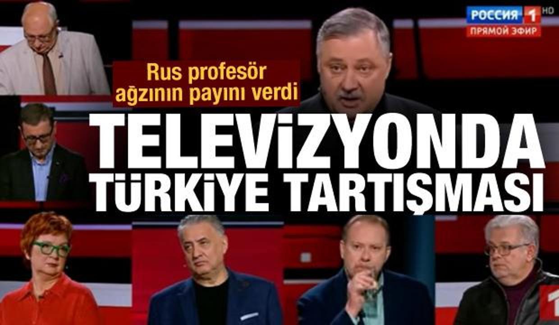 Rus televizyonunda Türkiye kavgası: Bizi Erdoğan ile korkutmayın