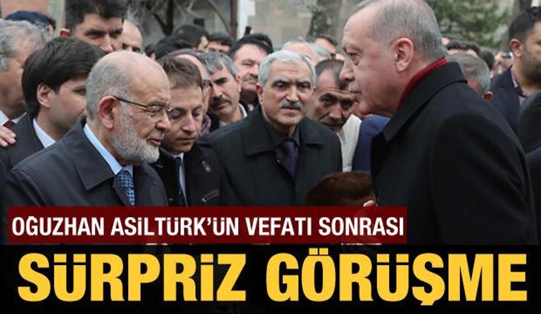 Cumhurbaşkanı Erdoğan ve Temel Karamollaoğlu bir araya gelecek