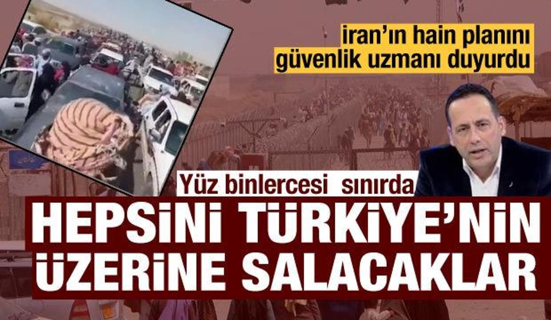 İran'ın sinsi mülteci planı: Türkiye sınırında bekletiliyorlar!