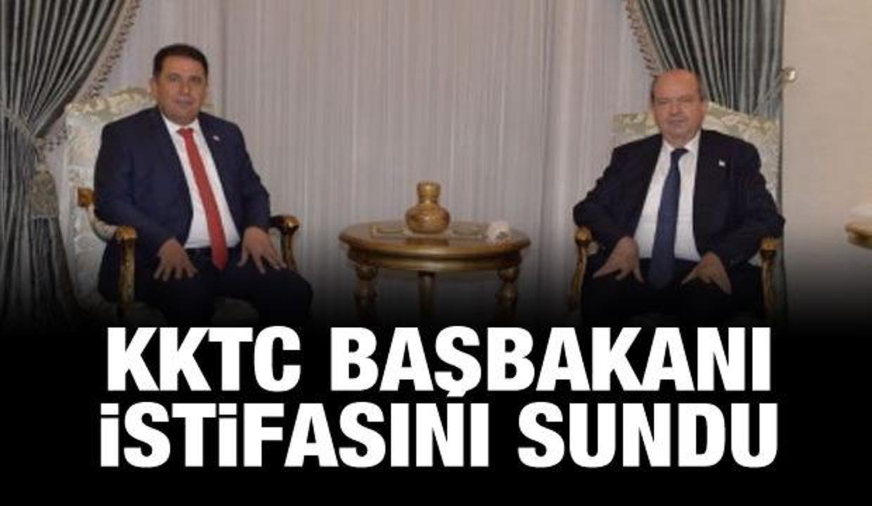 Son dakika haberi: KKTC Başbakanı istifasını sundu
