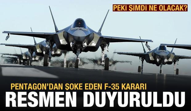 Pentagon, F-35'lerin tam kapasite seri üretimini askıya aldı
