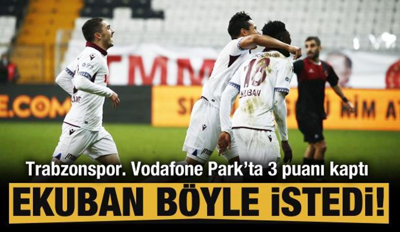 Trabzonspor kritik deplasmanda kazandı!