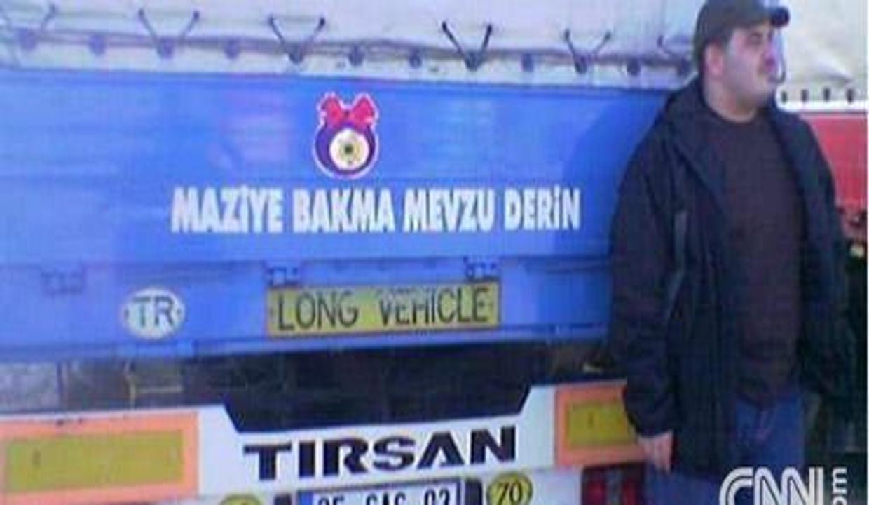 Yasaklanacak kamyon yazıları örnekleri