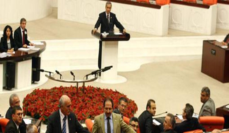 Bülent Arınç'ın Meclis'te 'Kürtçe' isyanı