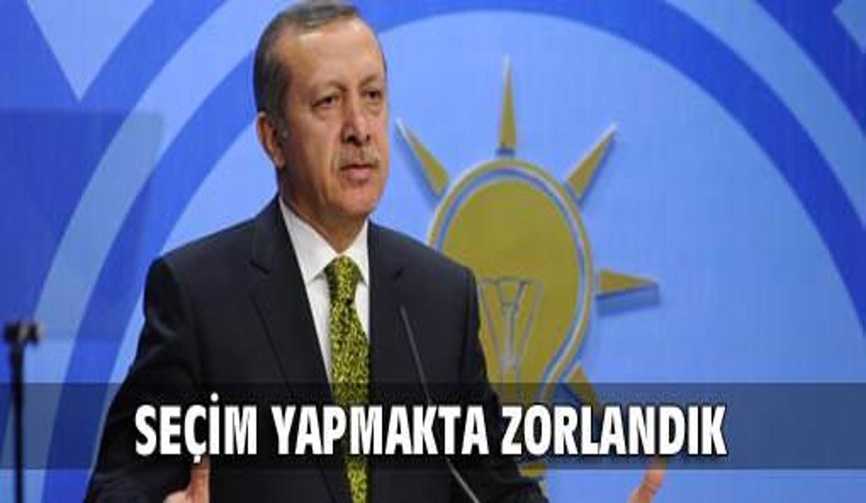 Erdoğan: 167 vekil listede yok
