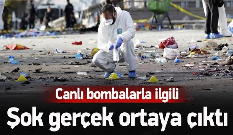Canlı bombalarla ilgili şok gerçek