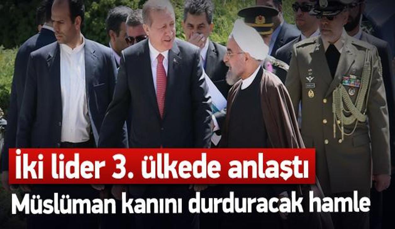 Erdoğan ve Ruhani Yemen çözümü için anlaştı