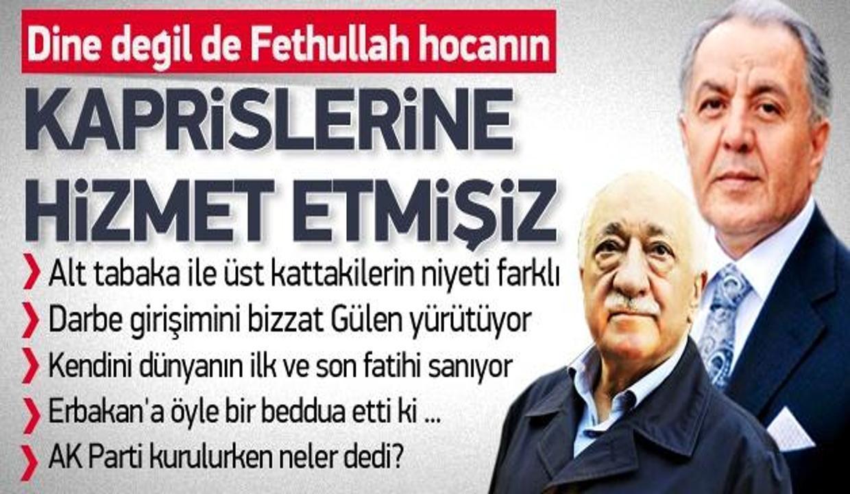 Gülen, Erdoğan AK Parti'yi kurarken ne dedi?