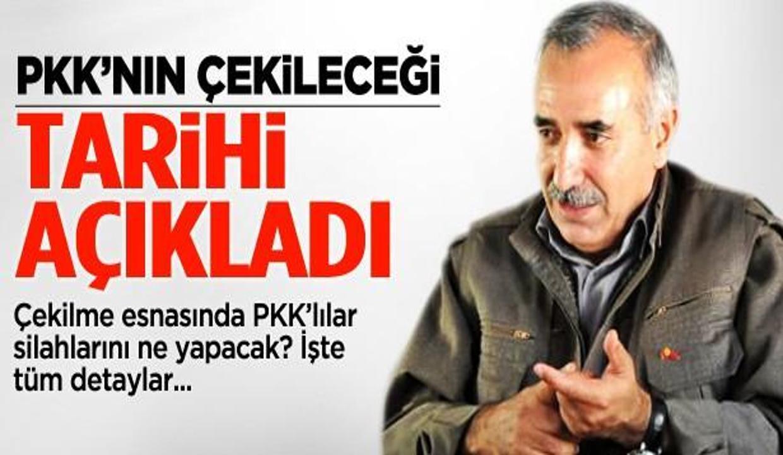 Karayılan PKK'nın çekileceği tarihi açıkladı