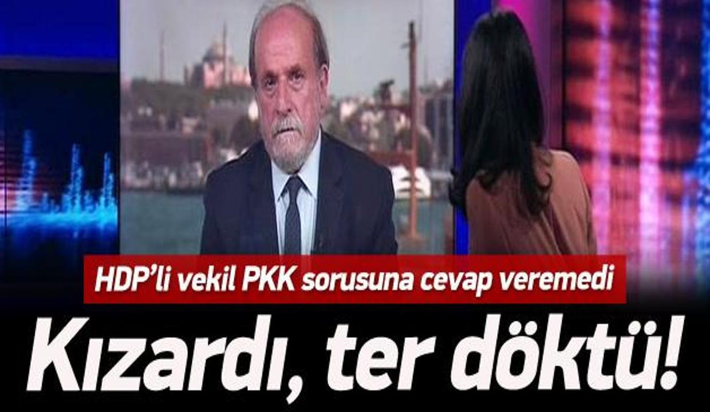 PKK terörü sorulunca Kürkçü'nün yüzü kızardı