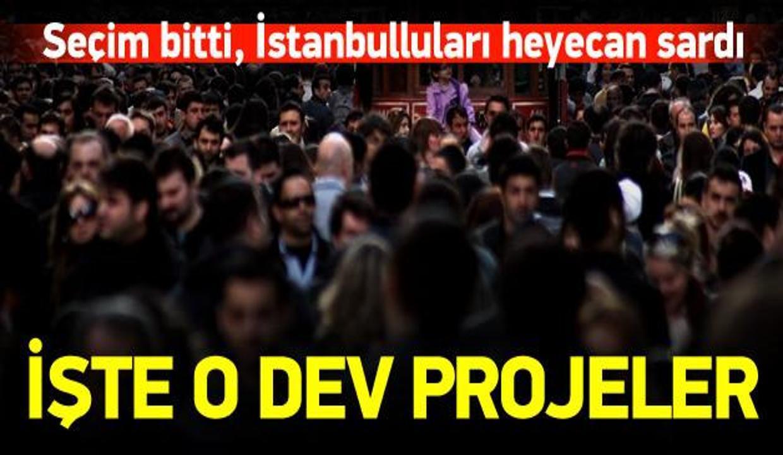 Seçim bitti, İstanbulluları heyecan sardı